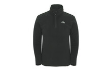 The North Face Men&#039;s 100 Glacier 1/4 Zip tnf black